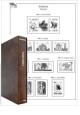 Ukrajina 1992-2010 komplet (153 listů), A4, papír 160g - 2ks desek – 2 archivní boxy, včetně zesílených obalů