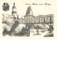 Dřevěné pohlednice - Nové Město nad Metují - No. 3A