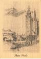 Dřevěné pohlednice - Stará Praha
