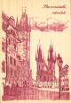 Dřevěné pohlednice - Staroměstské náměstí