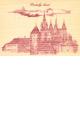 D�ev�n� pohlednice - Pra�sk� hrad