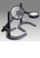 Lupa čtenářská na kloubovém stojánku s osvětlením - LCH SML11A - D 165