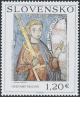 Umění 2010: Gotická nástěnná malba 1,20 Euro - Slovensko č. 485