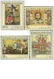 Slovenské lidové ikony - čistá - č. 1864-1867