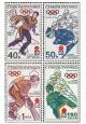 IX. zimní Olympijské hry Sapporo 1972 - čistá - č. 1938-1941