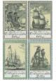 Staré rytiny lodí - čistá - č. 2206-2209