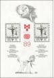 BIB 1989 - čistý - aršík - č. A2908