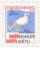 Shromáždění za mír a život, proti jaderné válce, Praha 1983 - čistá - č. 2596
