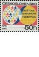 40. výročí Světové odborové federace - čistá - č. 2706
