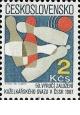 50. výročí kuželkářského svazu - čistá - č. 2779