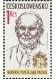 Návštěva papeže Jana Pavla II. - čistá - č. 2938