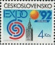 Světová výstava EXPO 92 v Seville - čistá - č. 3004
