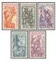 Československé loutky - čistá - č. 1189-1193