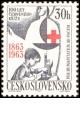 100. výročí založení Červeného kříže - čistá - č. 1319