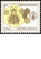 XIX. mezinárodní včelařský kongres APIMONDIA 1963 v Praze - čistá - č. 1320