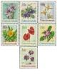 Květiny botanických zahrad - čistá - č. 1630-1636