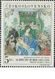 37. kongres FIP - Albrecht Dürer: Růžencová slavnost - čistá - č. 1695
