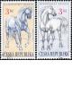Kladrubští koně - razítkovaná - č. 122-123