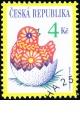 Velikonoce - razítkovaná - č. 172