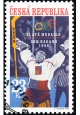 ZOH Nagano 1998 - zlatá medaile v hokeji - razítkovaná - č. 177