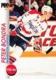 Hokejové karty Pro Set 1992-93 - Peter Bondra - 209