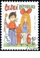 Dětem - razítkovaná - č. 358