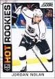 Hokejové karty SCORE 2012-13 - Rokkie - Jordan Nolan - 508