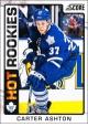 Hokejové karty SCORE 2012-13 - Rokkie - Carter Ashton - 517