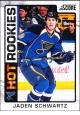 Hokejové karty SCORE 2012-13 - Rokkie - Jaden Schwartz - 521