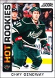 Hokejové karty SCORE 2012-13 - Rokkie - Chay Genoway - 540