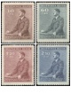 Protektorát - 53. narozeniny A. Hitlera - č. 74-77 - čistý