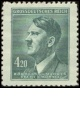 Protektorát - Adolf Hitler - výplatní - č. 122 - čistý