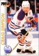 Hokejové karty Pro Set 1992-93 - Craig Simpson - 56