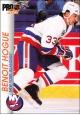 Hokejové karty Pro Set 1992-93 - Benoit Hogue - 108