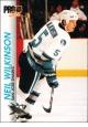 Hokejové karty Pro Set 1992-93 - Neil Wilkinson - 168