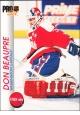 Hokejové karty Pro Set 1992-93 - Don Beaupre - 206