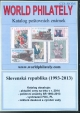 Katalog po�tovn�ch zn�mek - Slovensk� republika (1993-2013) - World Philately 2014