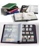 Zásobník na známky Leuchtturm - BASIC S64 - A4 - 64 stran - černé listy