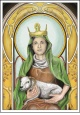 Postcrossing pohlednice - sv. Ane�ka �esk� - PO-0235