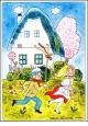 Alena Ladov� - Velikono�n� pohlednice - 1975