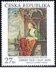 Gerrit Dou - Mladá dáma na balkóně - společené vydání - č. 899 - za nominál
