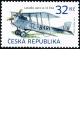 Historické dopravní prostředky - letadlo AERO A-14 ČSA - č. 914 - za nominál