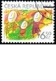 Velikonoce - razítkovaná - č. 391