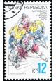 MS v ledním hokeji v Praze - razítkovaná - č. 393