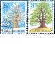 Ochrana přírody - Chráněné stromy - razítkovaná - č. 407-408