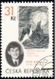 Osud kresby Petra Ginze - Měsíční krajina - razítkovaná - č. 422