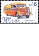 Historické dopravní prostředky - poštovní autobus - č. 916 - za nominál