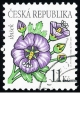 Krása květů - ibišek - č. 458 - razítkovaná
