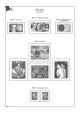 Albové listy A4 POMfila Francie – 1965-1980 - nezasklené (65 listů), vč.zesílených obalů, papír 160gr.