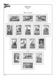 Albové listy A4 POMfila Španělsko - 1936-1964 - nezasklené (80 listů), vč.zesílených obalů, papír 160gr.